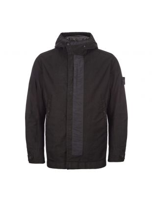 Stone Island Ghost Piece Jacket Military Spec | 7115442F1 V0029 Black