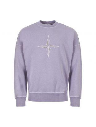Stone Island Lilac Sweatshirt 7015561261 V0147 Lilac