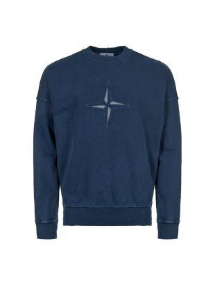 stone island sweatshirt 701561261 VO128 navy