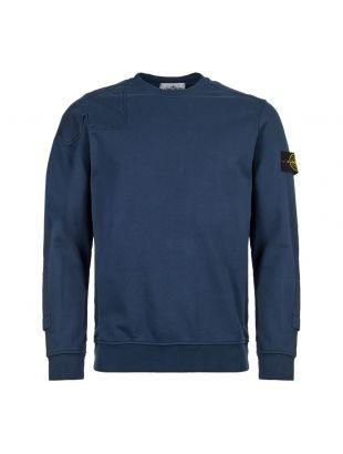 Stone Island Sweatshirt 701563451 V0028 Petrol Blue