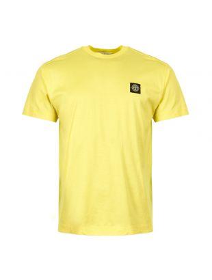 Stone Island T-Shirt 701524113 V0031 in Yellow