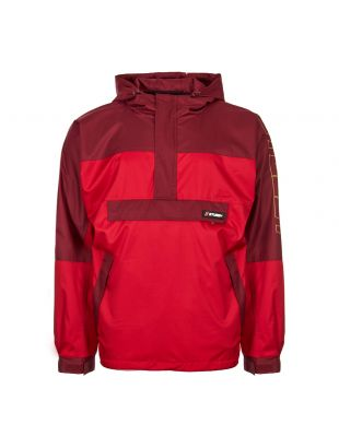 Stussy Jacket Alpine Pullover 115419 In Red