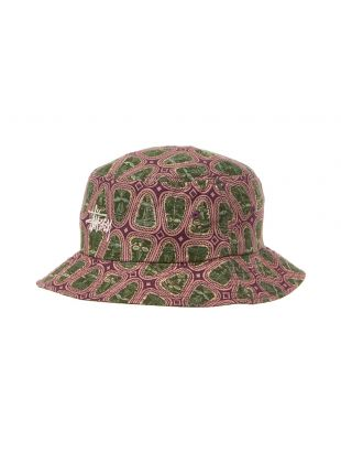 Stussy Bucket Hat | 132925 PINK / GREEN