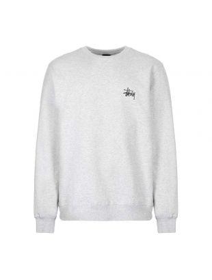 stussy sweatshirt 1914416 ASH grey