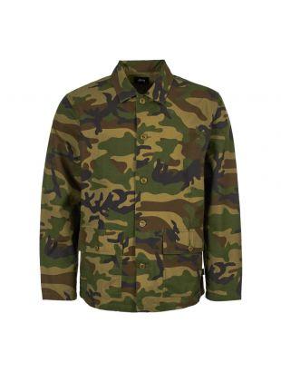 Stussy Military Shirt 1110010 Camo