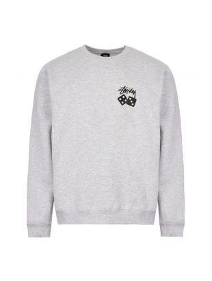 Stussy Sweatshirt Dice 1914460 ASH HEATHER Ash Heather