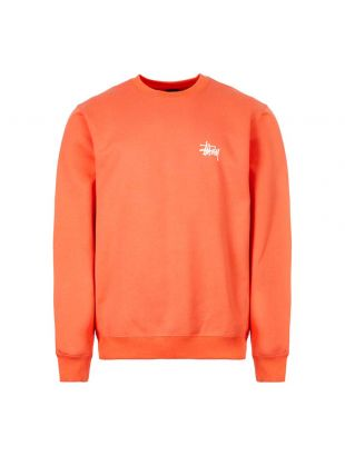 Stussy Sweatshirt | 1914416 ORG Orange