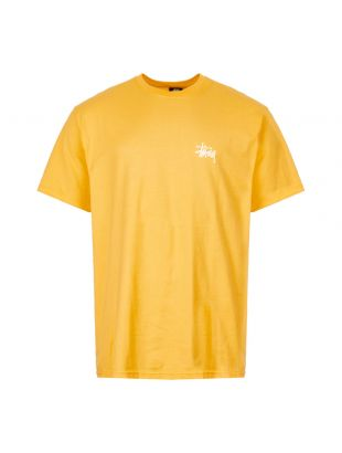 stussy t-shirt 1904416 ORANGE yellow