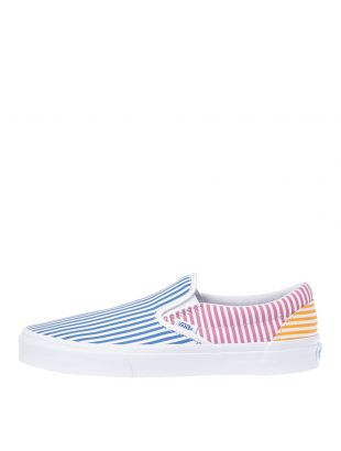 Vans Slip On Trainers VN0A38F7VM01 in Mix Stripe