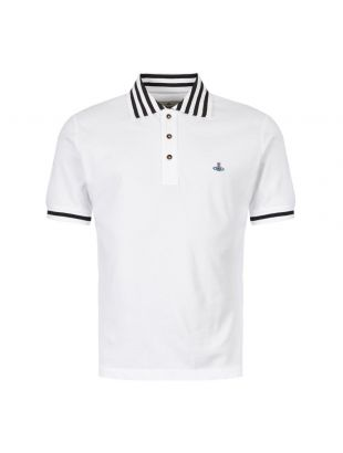 Vivienne Westwood Polo Shirt S25GL0025 S23142 100 In White