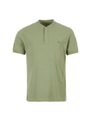 Vivienne Westwood Polo Shirt   S25GL0017 S23142 701 Green