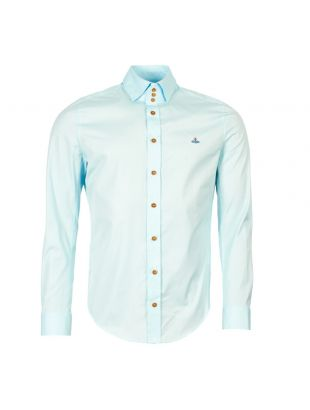 Vivienne Westwood Shirt S25DL0434 S47899 531 in Blue