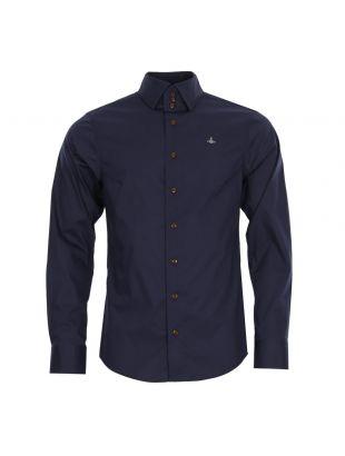 Vivienne Westwood Shirt | S25DL0370S43623 478 Navy
