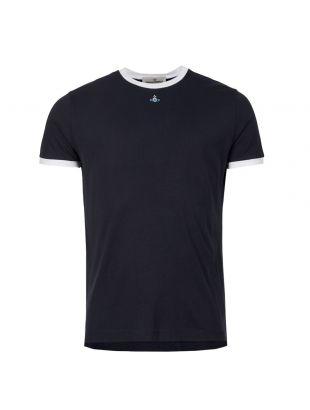Vivienne Westwood T-Shirt S25GC0427 S22634 524 Navy