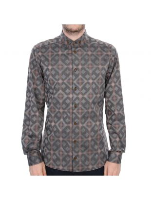Vivienne Westwood Black Diamond Shirt  in Grey