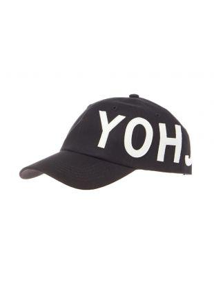 y-3 cap yohji logo FH9271 black