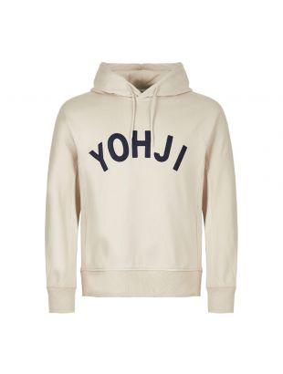 y-3 hoodie yohji logo FJ0441 beige