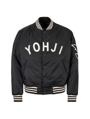 y-3 varsity jacket FJ0321 black