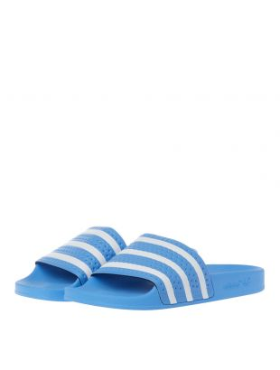 Adilette Slides - Light Blue