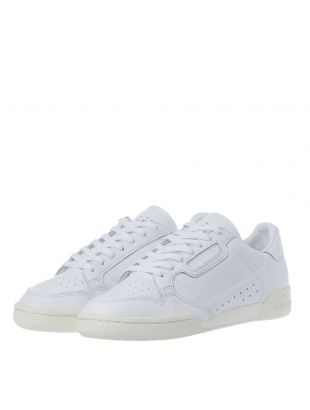 Continental 80 Trainers – Triple White