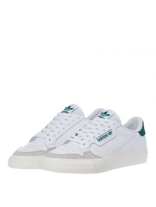 Continental Vulc Trainers – White / Green