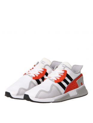 EQT Cushion ADV Trainers - White / Red / Black