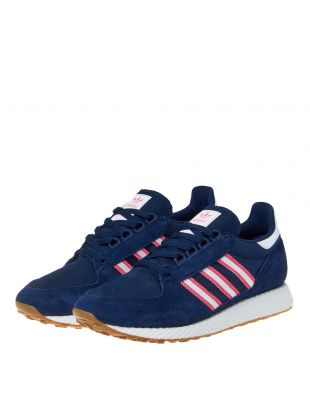 Forest Grove Trainers - Navy/Pink