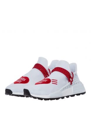 Human Made NMD Hu Trainers – White