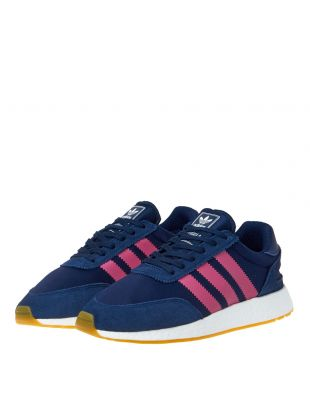 I-5923 Trainers - Navy/Pink