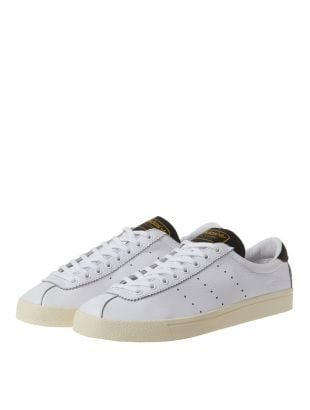 Lacombe Trainers - White/Black