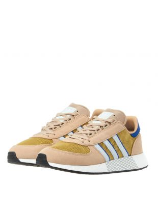 Marathon Tech Trainers - Beige