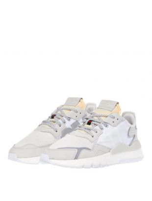 Nite Jogger Trainers – Cream / White