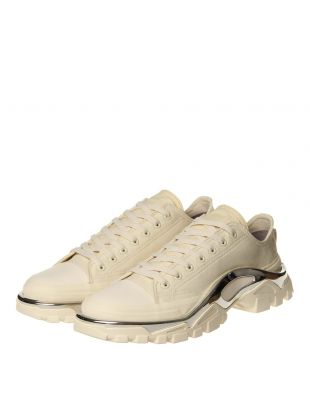 Detroit Runner Trainers - Cream / Silver