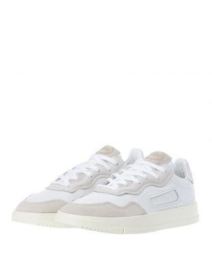 SC Premiere Trainers - White / Off White