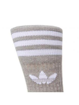 Two Pack Socks - White/Grey