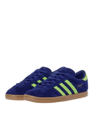 Stadt Trainers – Blue / Green