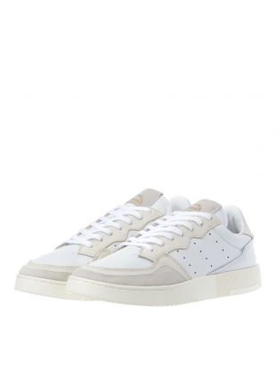 Supercourt Trainers - White / Off White