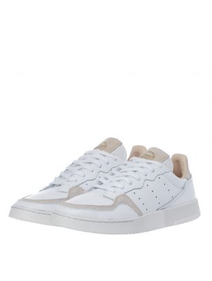 Supercourt Trainers – Cloud White / Crystal White