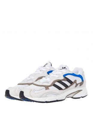 Temper Runner Trainers - White / Blue
