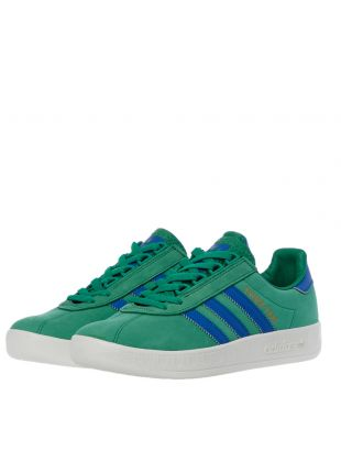 Trimm Trab Trainers – Green / Blue