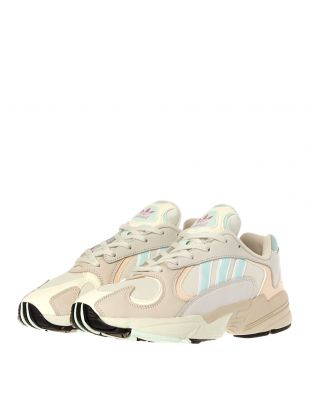 Yung 1 Trainers - Off White / Ice Mint