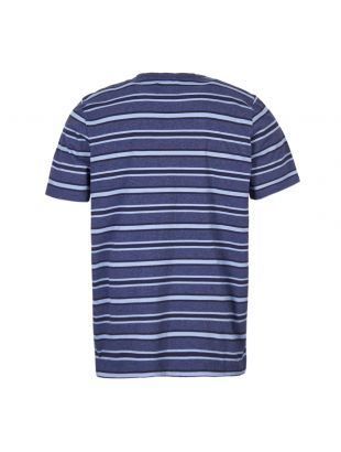 T-Shirt Bernard - Blue Stripe