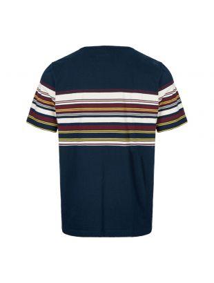 T-Shirt  - Navy Buren Stripe Pocket