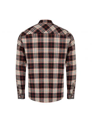 Shirt – Black / Orange / White
