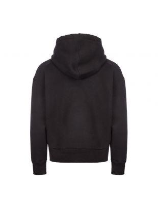 Hoodie Large Logo - Black
