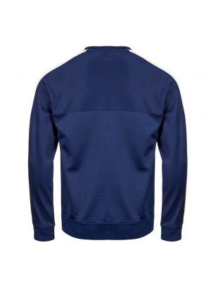 Sweatshirt  - Navy / White