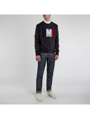 Sweatshirt Tricolour - Black