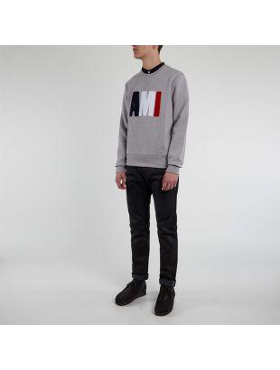 Sweatshirt Tricolour - Heather Grey