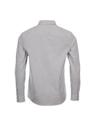 Shirt Franklin - Blue / Ecru Stripe