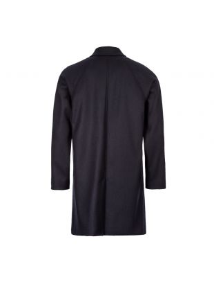 Coat Auster - Navy Wool